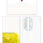 Free Blank Recipe Cards