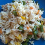 Fresh Garden Vegetable Fried Rice