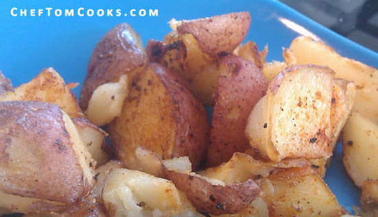 Spicy Roasted Red Potatoes