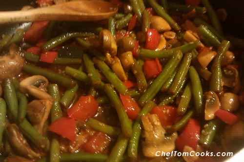 Spicy Bean Saute