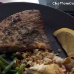 Tuscan Broiled Tuna Steaks