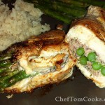 Asparagus & Ham Stuffed Chicken