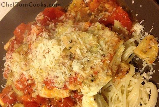 chicken tomato artichoke sauce