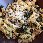 Sausage & Spinach Pasta