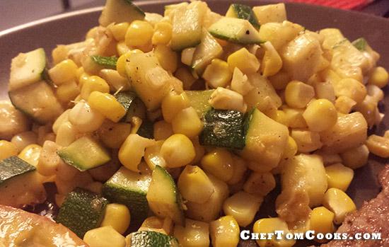 corn & zucchini