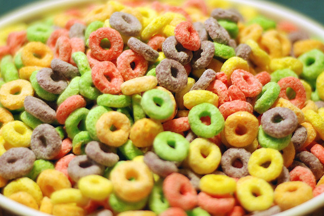 fruit loop cereal