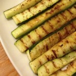 Lemon Marinated Grilled Zucchini & Summer Squash